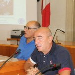 otello-giovanardi-ispra-scientist-and-maurizio-salvagno-vice-mayor-and-responsible-for-fishery-office-of-chioggia-introducing-the-meeting