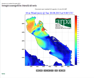 Adriatic Trawl Survey weather image