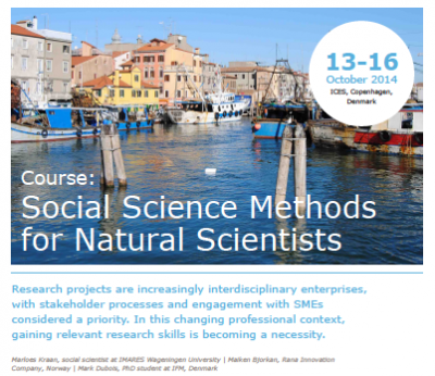 (c) ICES Social Science Methods for Natural Scientists Information