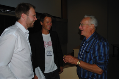 At the symposium we had the opportunity to discuss pike and muskie with some of the most recognisable scientists in the field. The nestor of Esox, John Casselman, generously shared his knowledge about pike