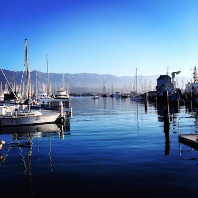 Santa Barbara Harbour © Emma Pearson