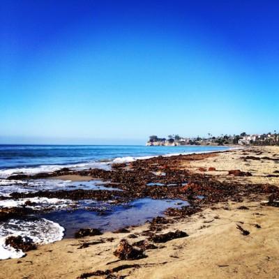 Santa Barbara beach © Emma Pearson